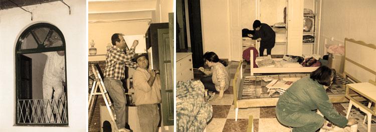Fundación Senda trabajos de rehabilitación en 1996