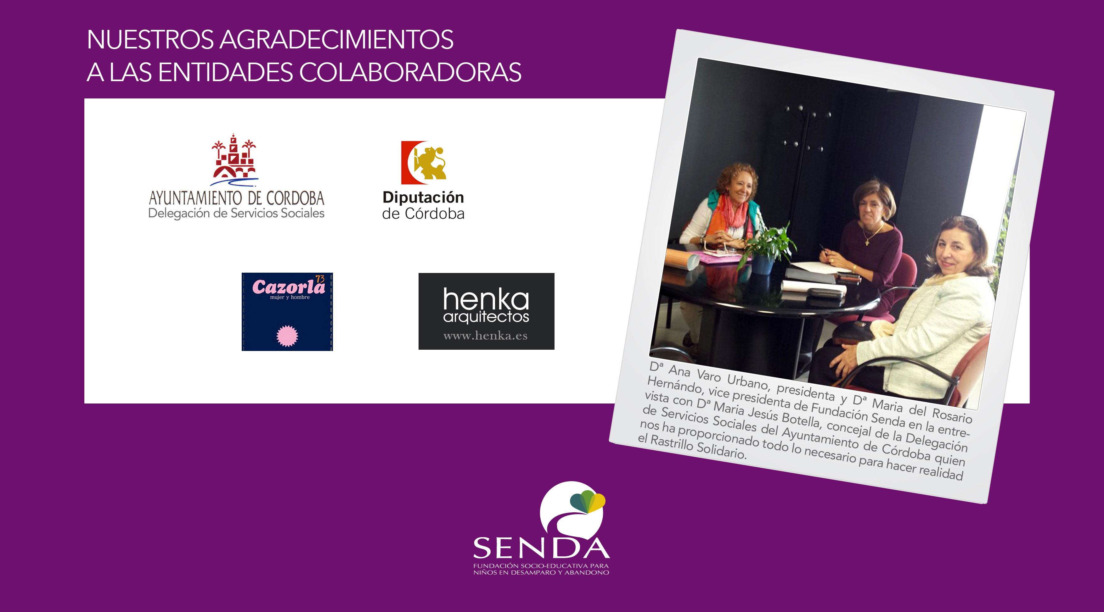 Rastrillo Solidario Senda Primera Edición Córdoba