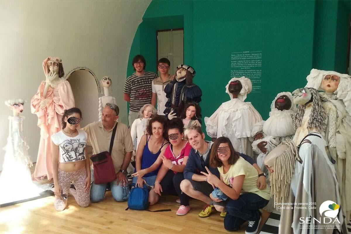 fundacion-senda-andalucia-convivencia-verano-museo-titeres-2015