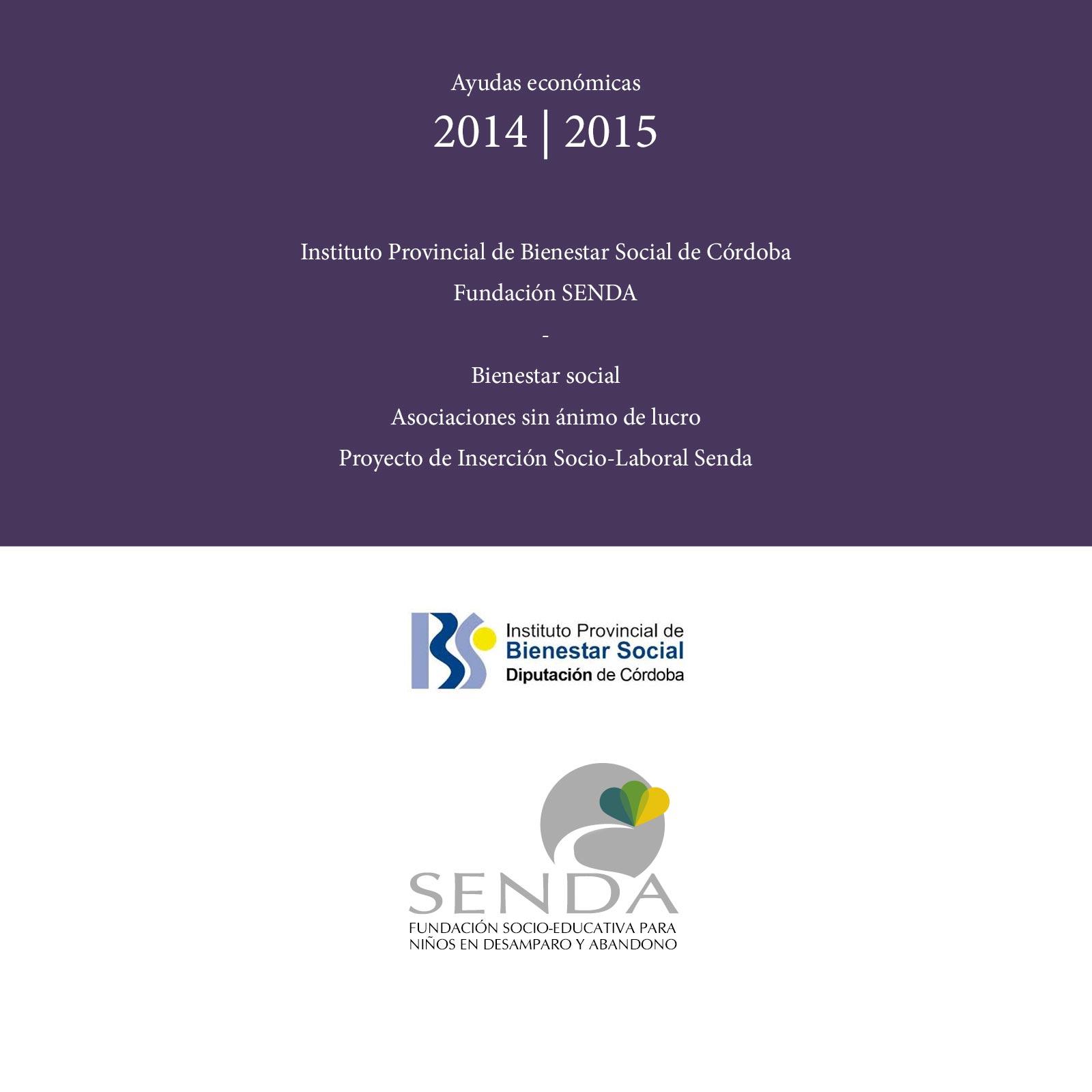 ayudas IPBS Córdoba Fundación Senda
