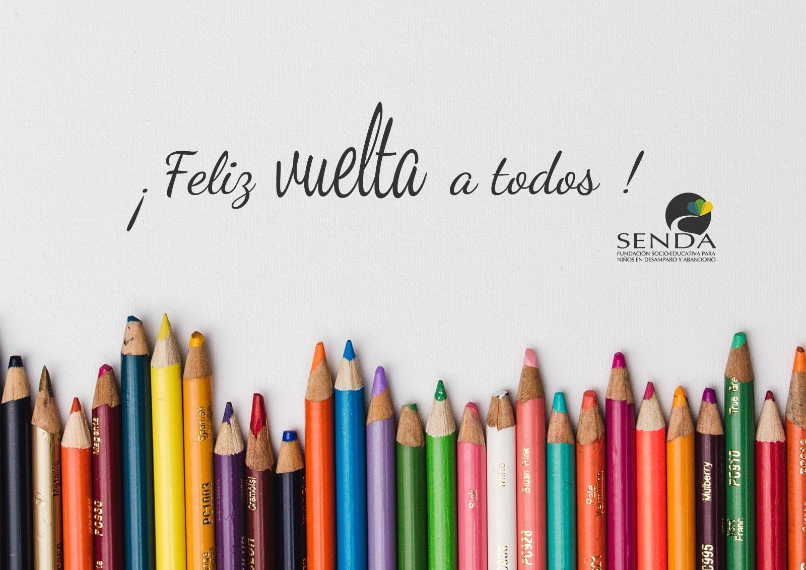 Feliz vuelta al cole curso 2016-2017 Fundación Senda Montoro Cordóba