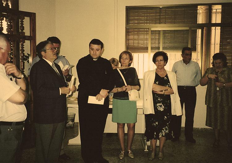 Fundación Senda inauguración en 1996
