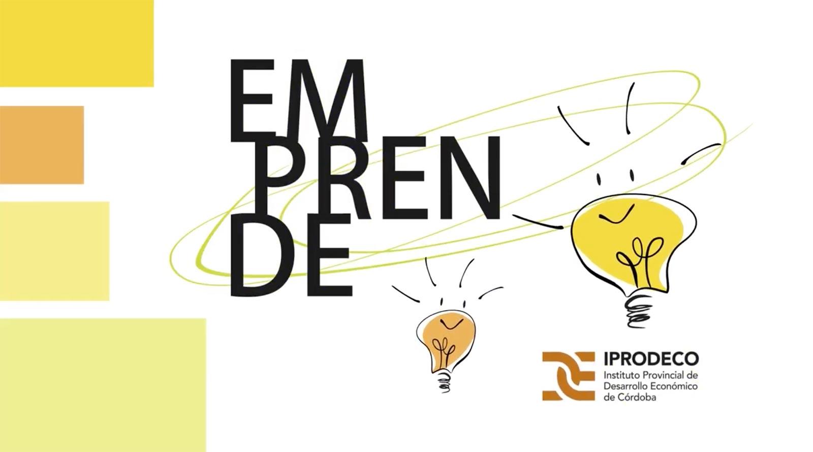 iprodeco córdoba programa emprende 2019 Fundación Senda