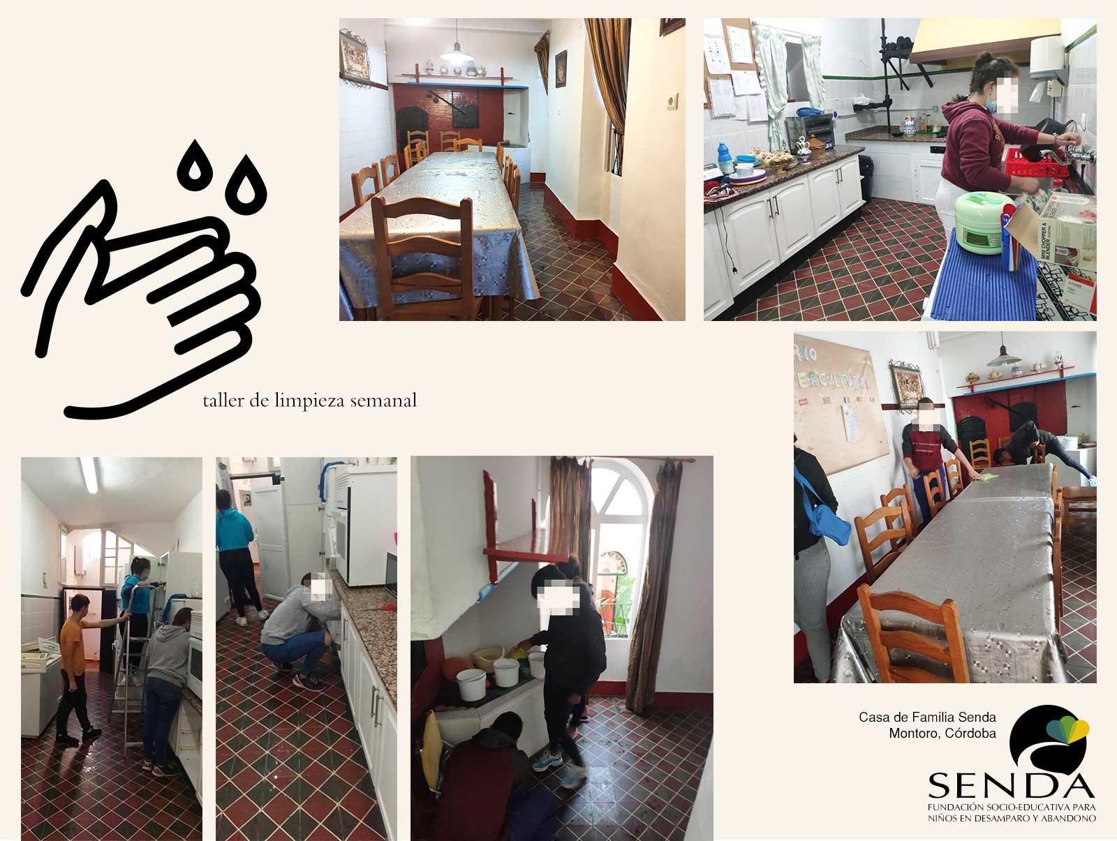 taller-limpieza-semanal-casa-familia-montoro-fundacion-senda